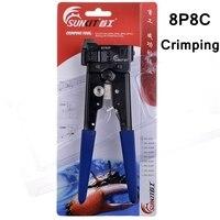 Readstar sunkit sk-808g AMP Тип 8P8C RJ45 кабельного Кримпер обжимной инструмент 8p6c 8p4c 8p2c Plug Сетевое оборудование кабель обжимные клещи