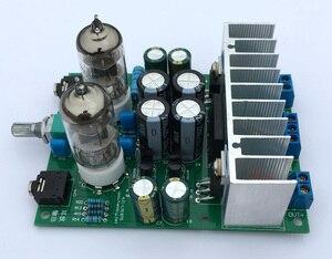 Image 5 - Diy kits HIFI 6J1 tube amplifier Headphones amplifiers LM1875T power amplifier Board 30W preamp bile buffer