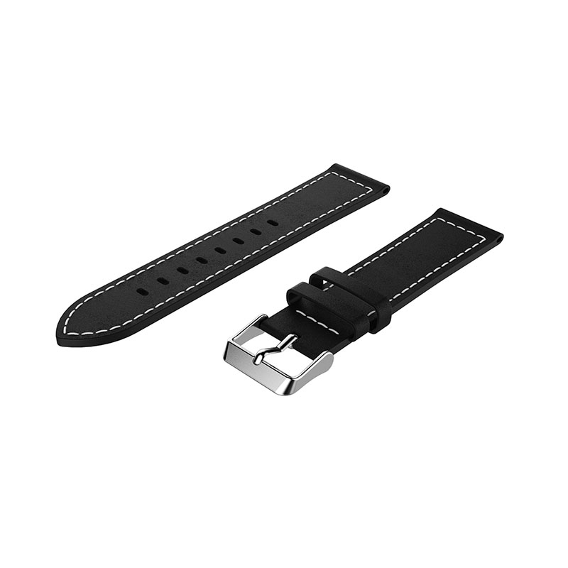 Genuine Watchband Replacement Classic Leather Wrist Strap band For Xiaomi haylou solar ls05 Smart Watch Band Wristband bracelet