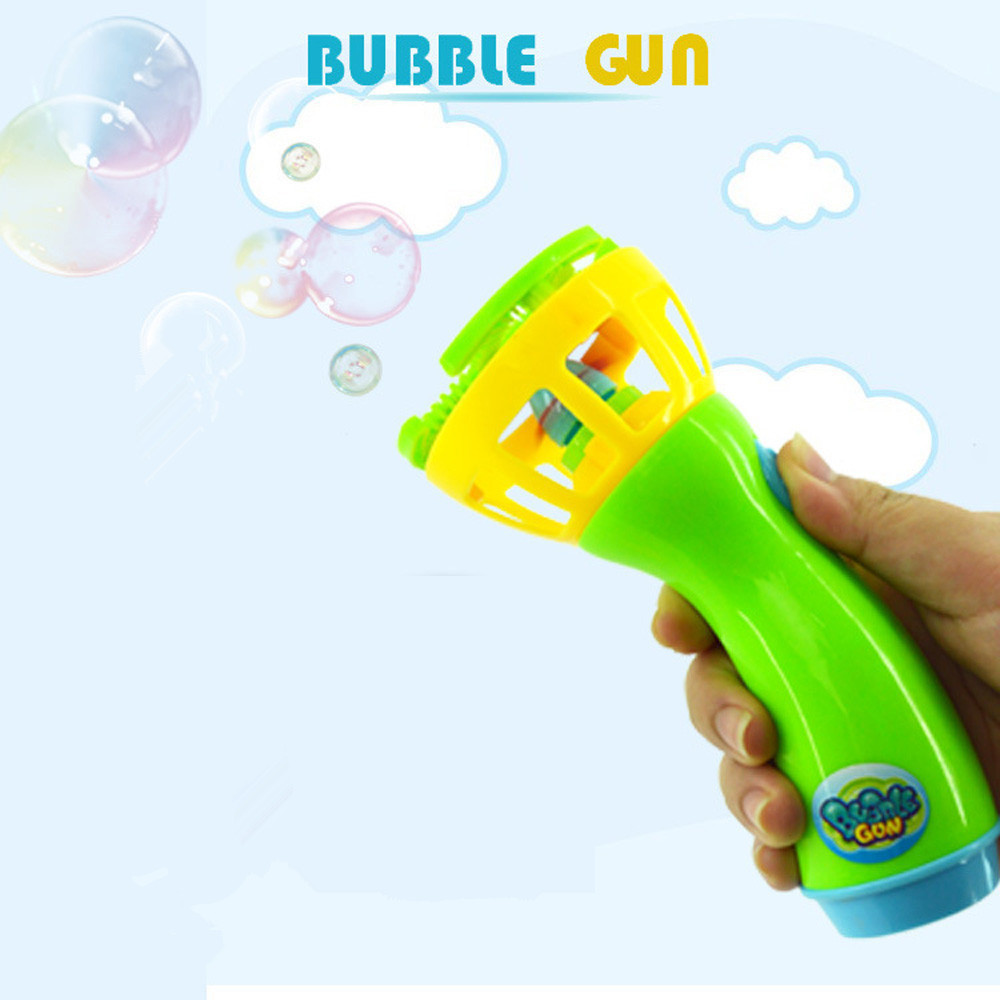 16cm Summer Funny Magic Bubble Blower Machine Bubble Maker Mini Fan Kids Outdoor Toys Birthday Party Gifts 30S8208 drop shipping