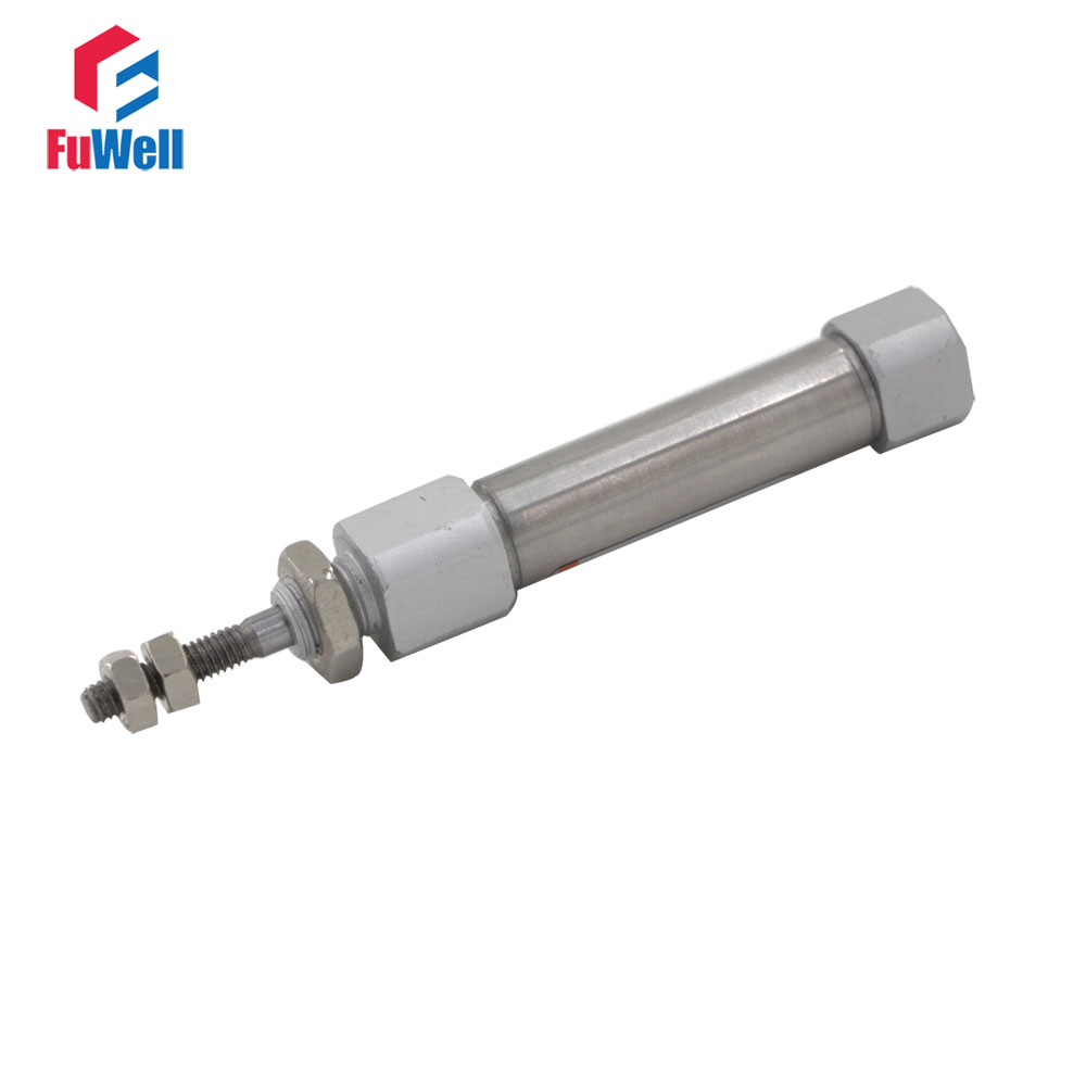 CDJ2B Type Pneumatic Cylinder 10mm Bore 5/10/15/20/25/30/35/40/45/50mm Stroke Single Rod Double Action Pneumatic Air Cylinder sda type bore 20mm stroke 5 10 15 20 25 30 35 40 45 50mm sda20 double acting compact air pneumatic piston cylinder female