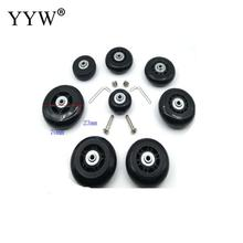 hot deal buy lowest price bag accessories 1 pcs plastic luggage wheels famous silicone suitcase wheels repair replacement parts for luggage