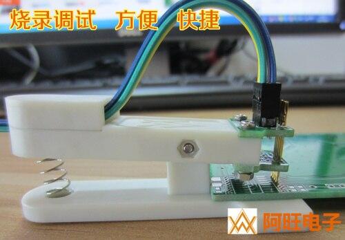 Fixture Debugging and Downloading of Burning Program Spring Needle Spacing 1.27mm-4P 50mil 4 Feet