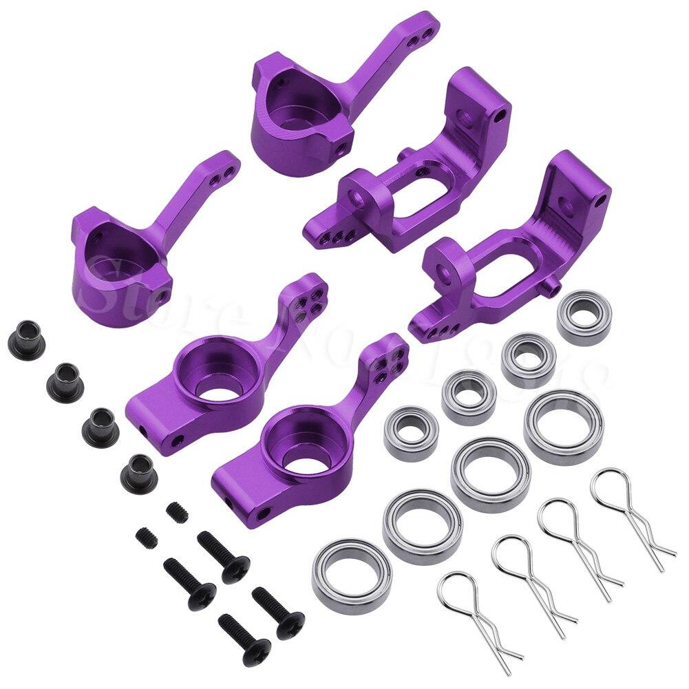 BRONTOSAURE HSP Upgrade Pièces Aluminium Directeur Hub 102210 102211 102212 102010 102011 102012 Pour 1/10 RC Monster Truck Buggy