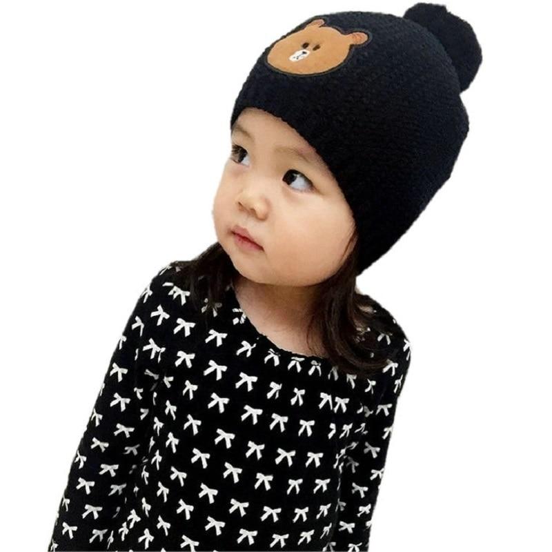 Dívky Chlapci Klobouky Rodič-dítě Cap Kids Zimní čepice Bonnet Dětské Baby Muts KF082