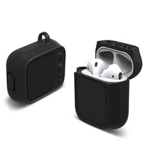 For AirPods Earphone Retro Chic TV Shape Soft Silicone Shock Proof Protective Case
