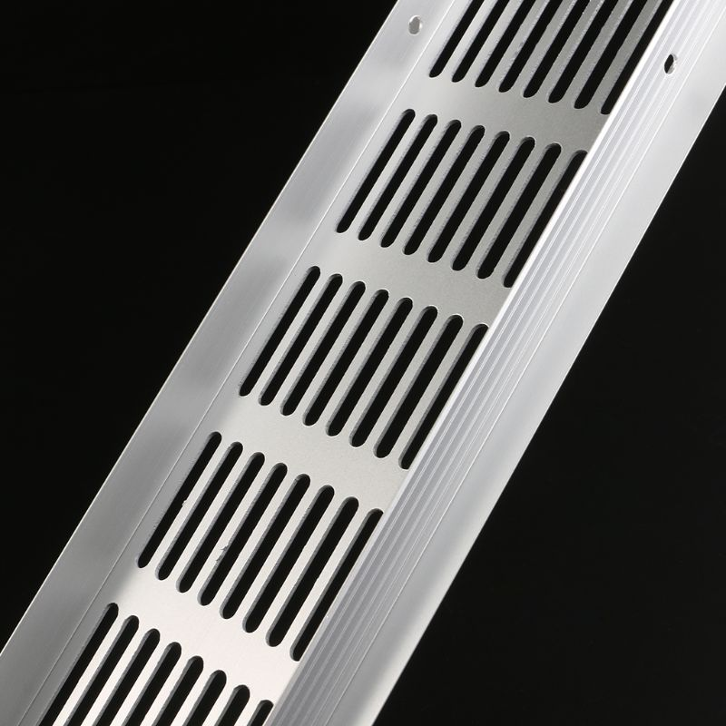 Multi size Aluminum Alloy Air Vent Perforated Sheet Web Plate Ventilation Grille 6