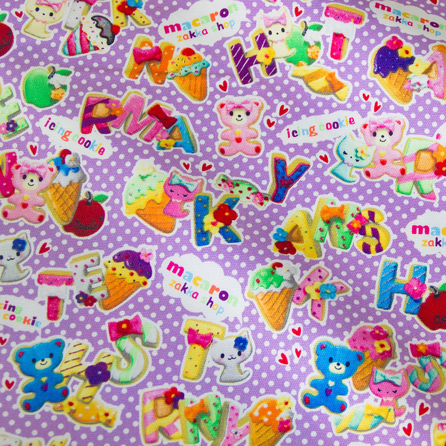 Icing On Fabric: 50cm*110cm Japanese Kokka Patchwork Quilting Cloth Fabric
