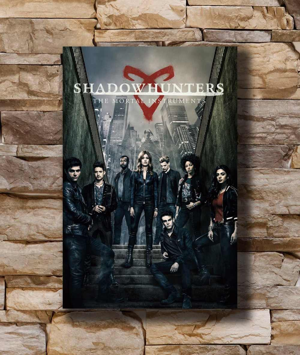 N1383 Shadowhunters The Mortal Instruments TV Series 8x12 20x30 24x36 Wall Poster Art L-W Canvas Print Decoration