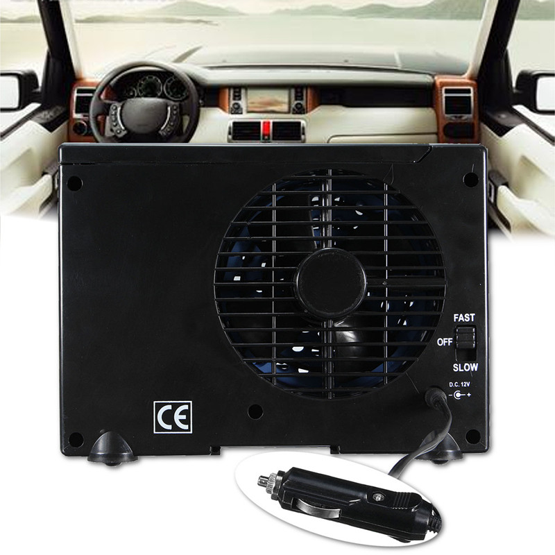 Sliverysea 12v Car Air Conditioner 35w Black Portable Mini