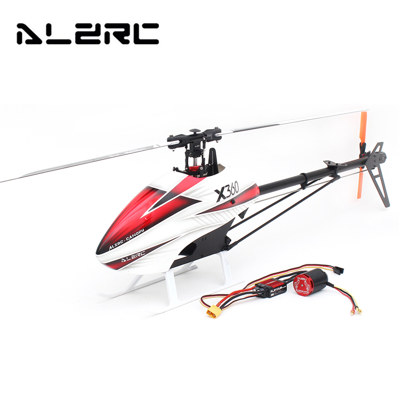 ALZRC X360 FAST FBL 6CH 3D Flying RC Helicopter Kit For Kids Children Birthday Gifts Present Remote Control Toys