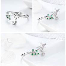 925 Sterling Silver Nature Designed Ring