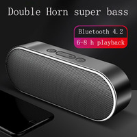 New Smart Bluetooth speakers super bass 3D stereo surround sound effect dual horn DSP digital noise reduction HD call audios