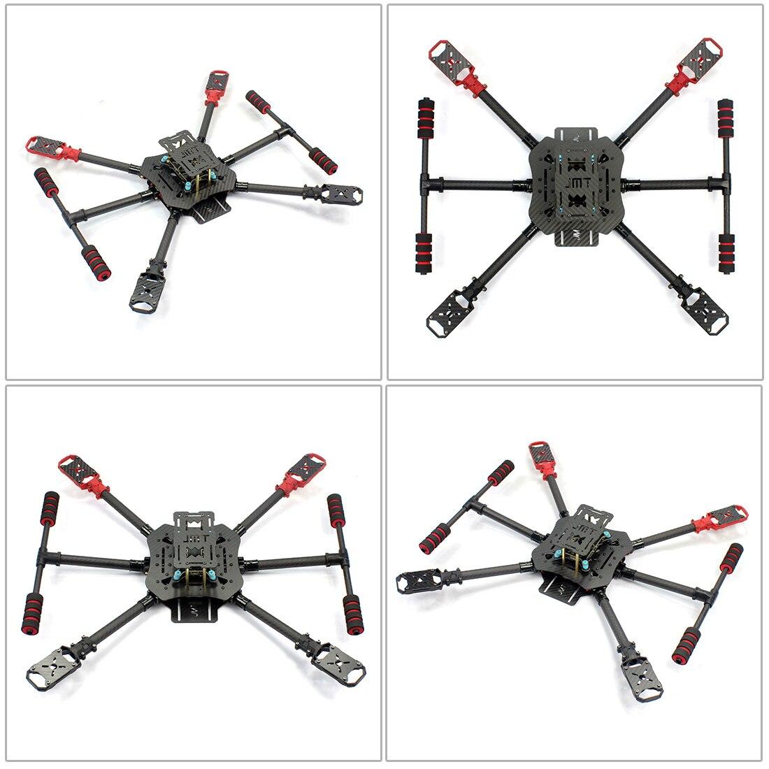 DIY Drone Aircraft-GPS-4 Axis-9