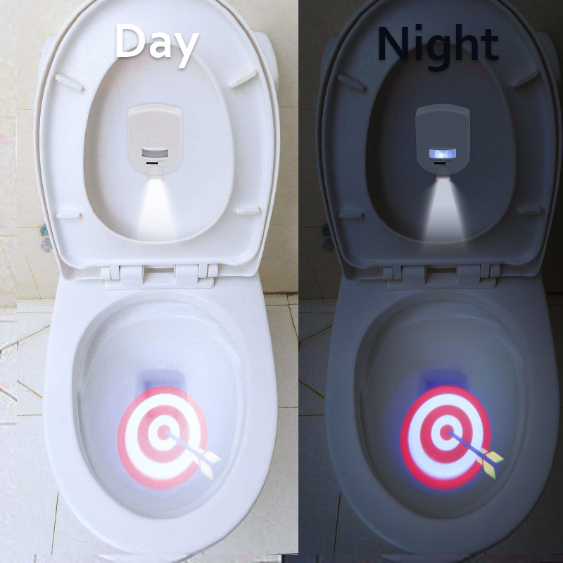 Toilet Projector Light Motion-activated Sensor for 4 Different Themes Children Toilet Training  YH-17