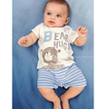 Summer Baby Rompers baby boy Clothing Sets  Infant  Newborn  Boys Costume  Short Sleeve  kids Romper  Boy girl Clothes   ST49