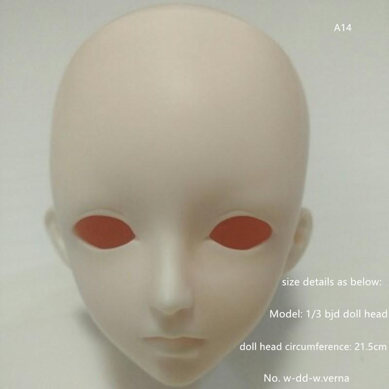 3 bjd doll single head_