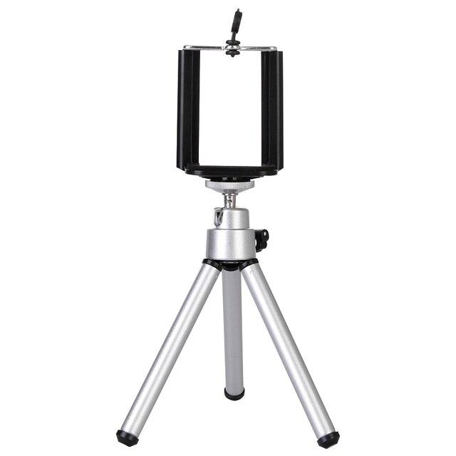 Tripods tripe cellular phone camera mobile holder monopod stand clip aluminium extension tripod for phone trip celular