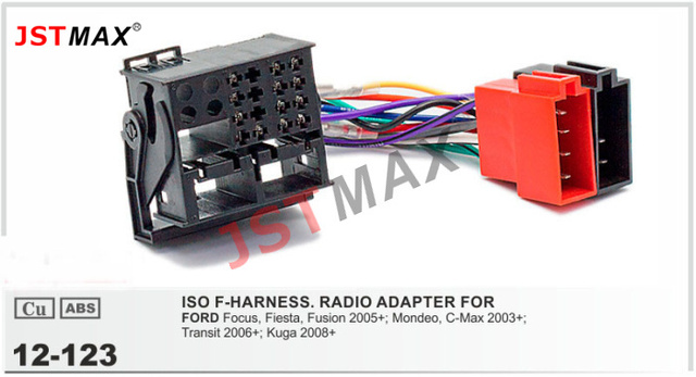 JSTMAX auto DVD Radio stereo ISO kabel Adapter für FORD Focus ...