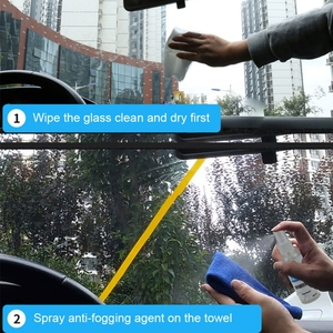 Image 4 - 2019 100ML Car Anti Fog Spray Eyeglass Lens Cleaner Windshield Mirror Glass Motorcycle Helmet Anti Fog Agent