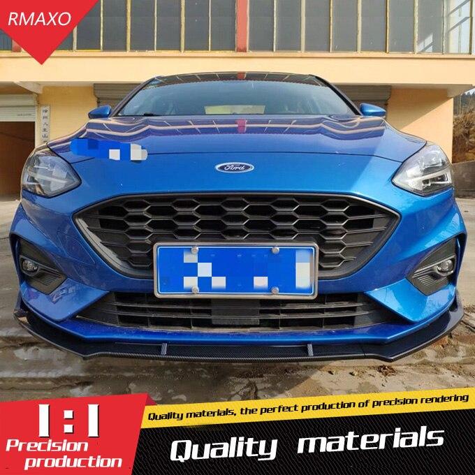 For Ford Focus Body kit spoiler 2019 2020 For Ford Focus ABS Rear lip rear spoiler