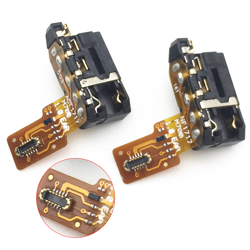 New For LG Q6 Audio Earphone Jack Model Flex Cable Headphone Jack Earpiece Replacement