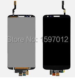 ФОТО For Lg Optimus G2 D800 d801 Lcd Display+Touch Glass Digitizer Assembly replacement Black/white color free shipping