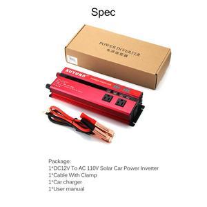 Image 3 - SOLAR Power INVERTER 5000W Sine WAVE อินเวอร์เตอร์ DC AC 12 V/24 V 220V Converter 4 USB พอร์ต Dual จอแสดงผล LED