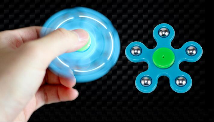 Hand Spinner Injection Molded Stainless Steel Ball Figit Fidget Spinner Anti stress EDC ADHD Toys Super