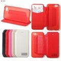 Para Apple iPhone 5C moda couro PU fique virar capa carteira caso com cartão de crédito titular sacos de proteção