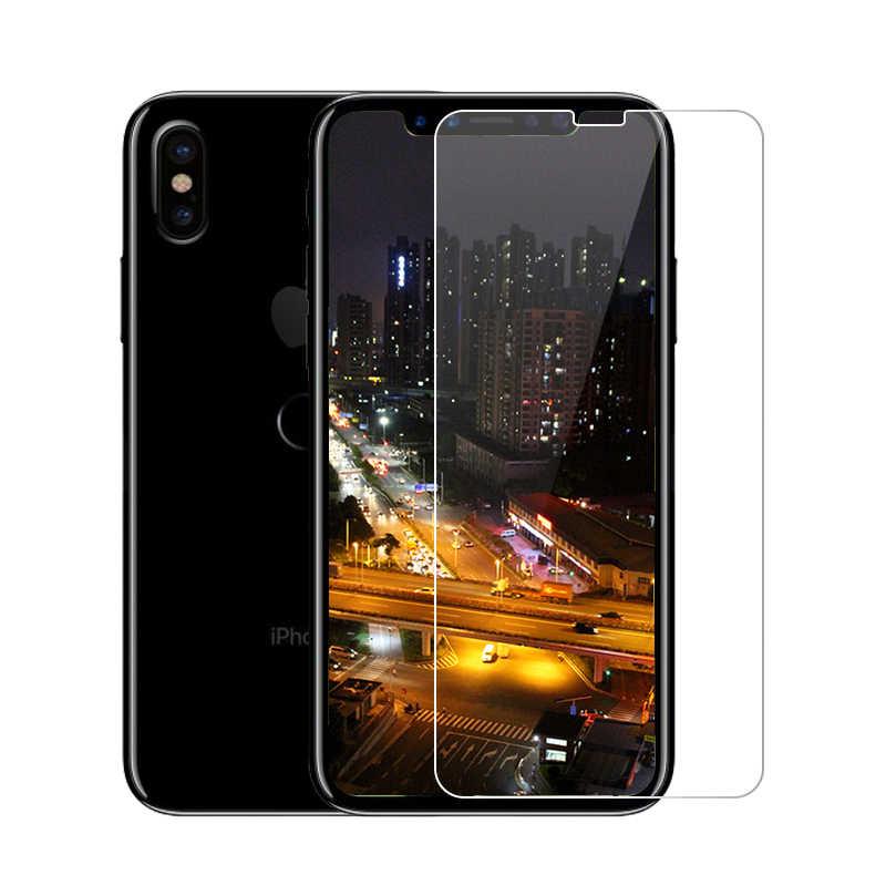 2.5D 0.26 ملليمتر 9 H قسط الزجاج المقسى لتفاح iPhone 8 زائد 5 5 ثانية SE 5C 4 ثانية واقي للشاشة تشديد فيلم آيفون × 7 6 6 ثانية