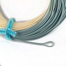 Bonefish Fly Line 100 FT Sand/Blue Color Fly Fishing Line With 2 Welded Loops Bonefish Fly Line for Slatwater/Freshwater