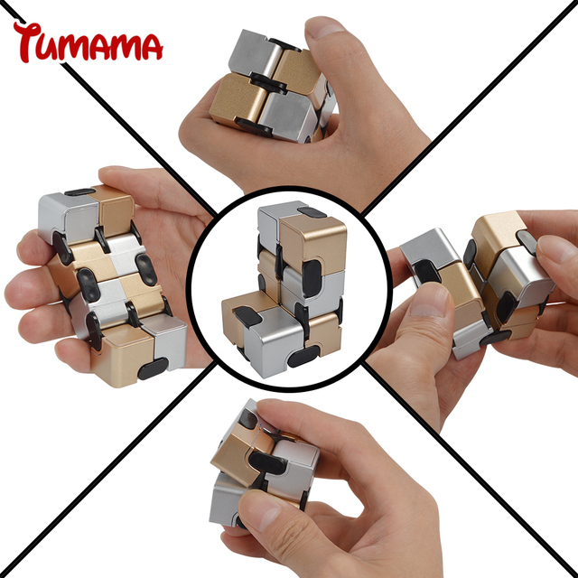 infinity cube. infinity cube 2017 new stress reliever magic puzzle adult kids anxiety relief flip desk toy i