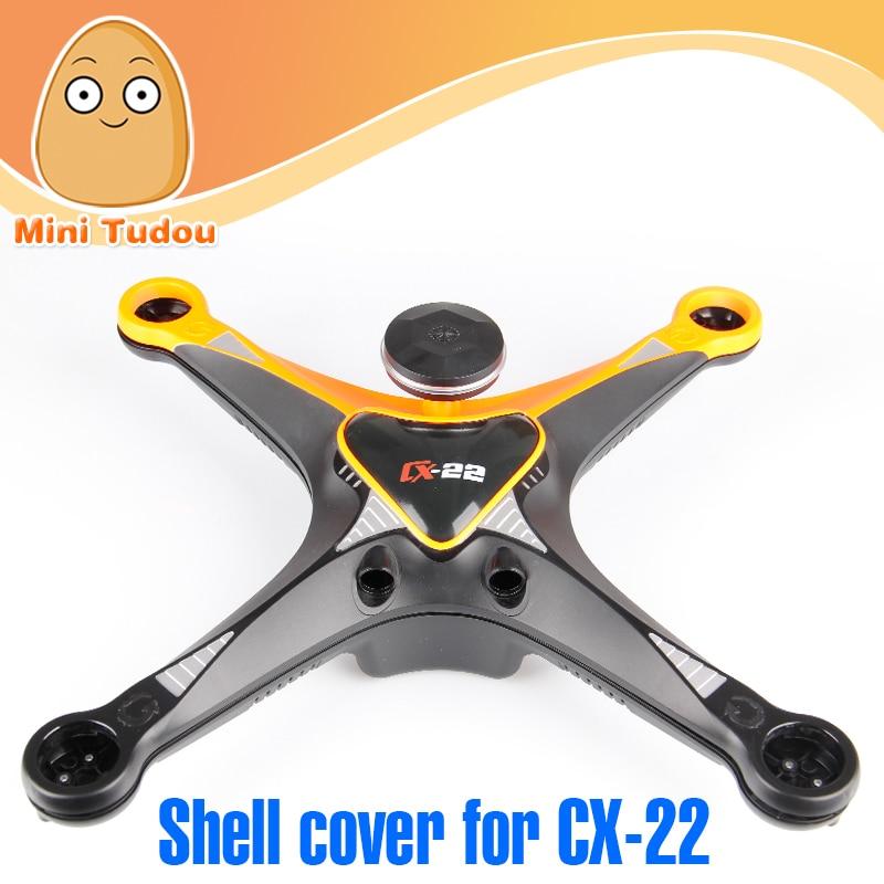 Minitudou drone parts Cheerson CX-22 Follow Me Drone Dual GPS Quadcopter  Frame Kit « a633d7832ca7f