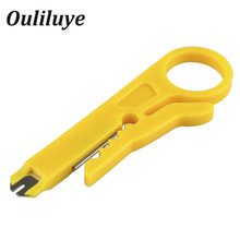 Yellow Color Multifunctional Pliers Crimping Pliers Cable Stripper Wire Cutter Tool Cutting Pliers Wire Cutter Stripping Knife цена