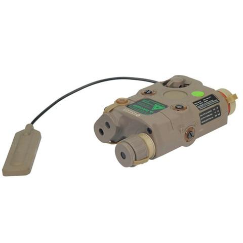 fma airsoft um peq 15 ponto verde laser