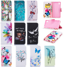 "XA1 PU Leather Cases For Sony Xperia XA1 Dual TD-LTE G3116 G3112 G3123 G3121 5.0"" Movie Stand Wallet Covers XA1 TPU Full Housing"