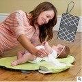 De Calidad superior 70x50 cm Bebé Recién Nacido Cambiador Colchón Del Bebé Portátil Trocador De Fraldas Transpirable Impermeable Hoja Urinol bebé