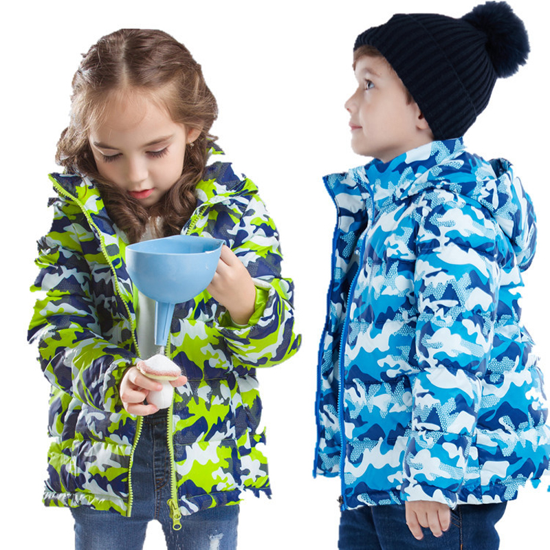 2017 NEW Russia Cold Winter Boys Girl 90% Duck Down Jacket Warm Kids Coat Toddler Boy Girl Clothes Child Casual Hooded Outerwear girl duck down jacket winter children coat hooded parkas thick warm windproof clothes kids clothing long model outerwear