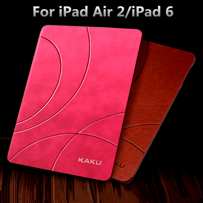 Luxury Smart Leather Case for iPad Air 2/iPad 6 Business Flip Book Cover Slim Thin Tablet Stand Case 9.7 for iPad Air 2 iPad 6 luxury smart cover for ipad air 2 flip pu leather case for ipad air 2 ipad 6 tablet protective shell case 9 7 stand book cover