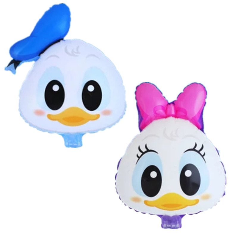 Cartoon Duck head Foil Balloons Inflatable toys air Balloons happy Birthday ball