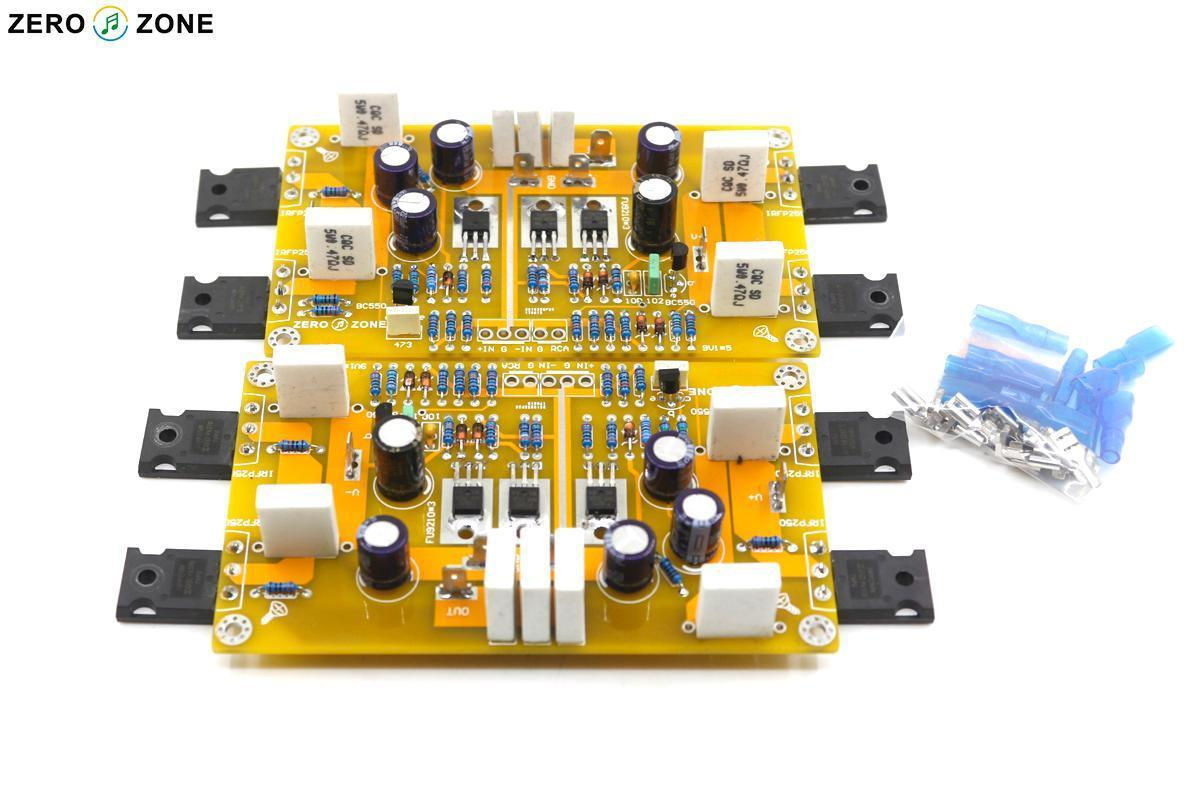 GZLOZONE Assembled PASS A3 Single-ended Class A Power Amplifier Board 30W+30W DIY AMP assembled amplifier board 700w power amplifier board without radiators diy amp board