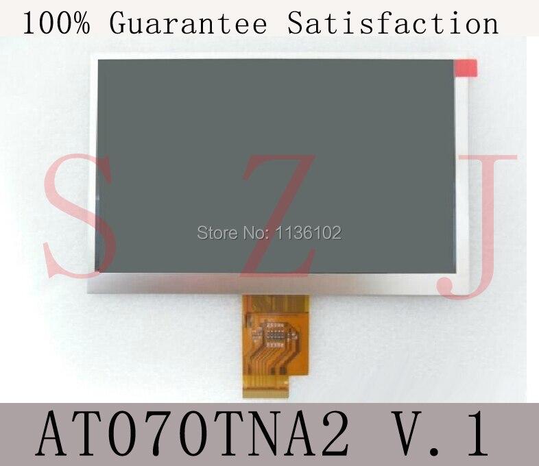 7 inch LCD Display Screen For AINOL NOVO7 Crystal Tablet PC HJ070NA - 13A EJ070NA AT070TNA2 V.1 1024*600 Free shipping 5Pcs/lot
