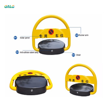 Portable solar remote control parking space protector car parking lock battery powered remote control private parking lock