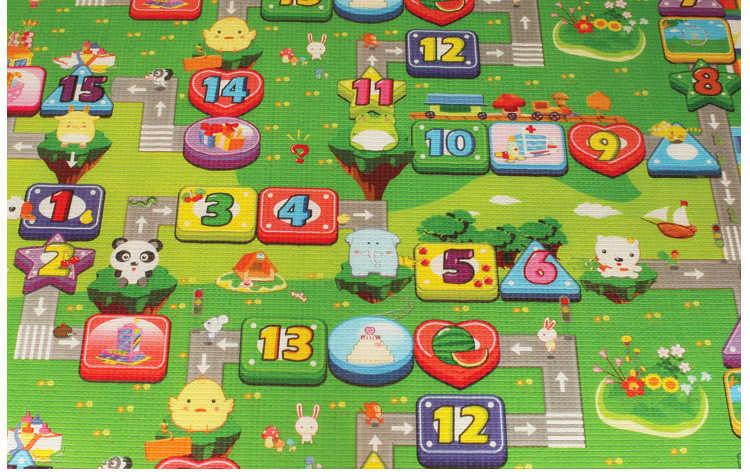 Играть Коврики 1 см толщина Дети Ковер Разработка Коврик для Детей Ковер для Детей Ковры Коврики Ребенка Играть Игрушка для Новорожденных Пены Eva покрывало