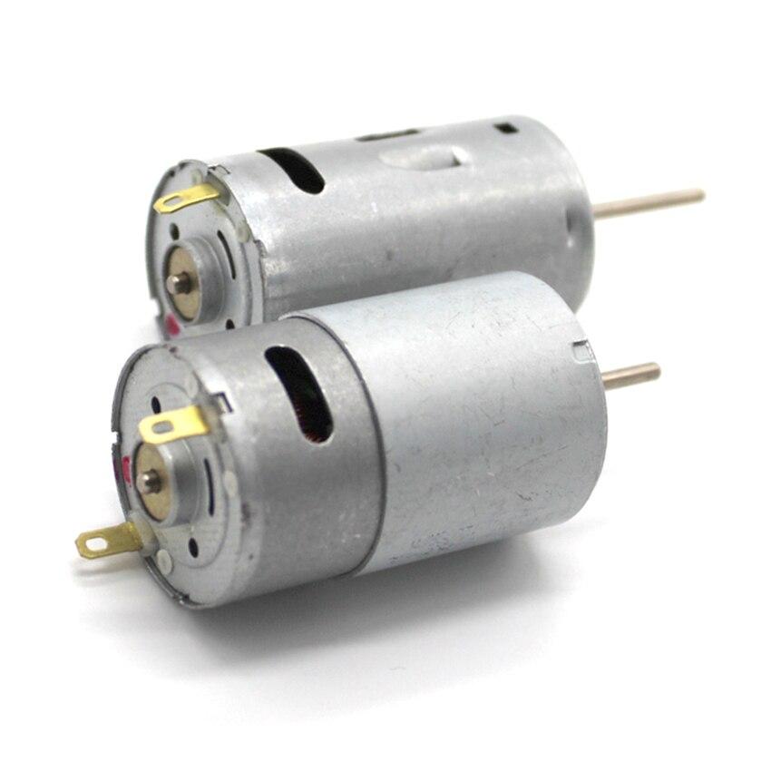 K215Y DC3-12V 390 DIY Mini DC Motor 4500-22000RPM High Speed Great Torsion Motor Diameter 27.5 MM High Quality
