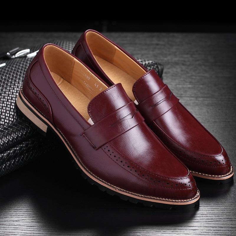 red Black De Marque Cuir Occasionnel Printemps En ModeMpx8107267 yellow Chaussures Designer Hommes Sociale ZPuXikOwT