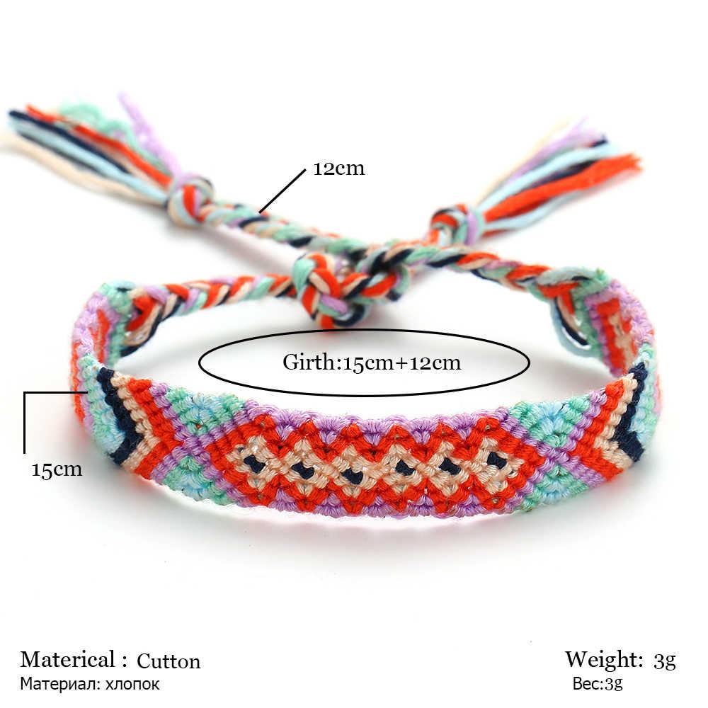 RscvonM lato czechy obrączki kolorowe plaża urok sznurek linowy obrączki dla kobiet bransoletka kostki sandały damskie na łańcuszek na nogę