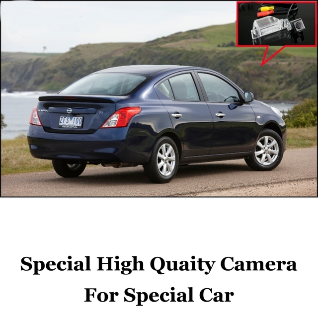 Câmera do carro Para Nissan Almera/Genuine Alta Qualidade Traseira View Camera Back Up Para Amigos Usam | CCD + RCA