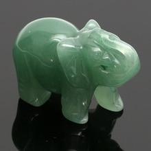 Handmade Natural Stone Elephant Figurine